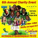 Cleon Nelson 6th Annual Charity Event Nottingham 02.08.2014