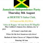 G&G Salsa Jamaican Independence 2014