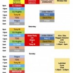 Latinfest September 2014 DJ Schedule