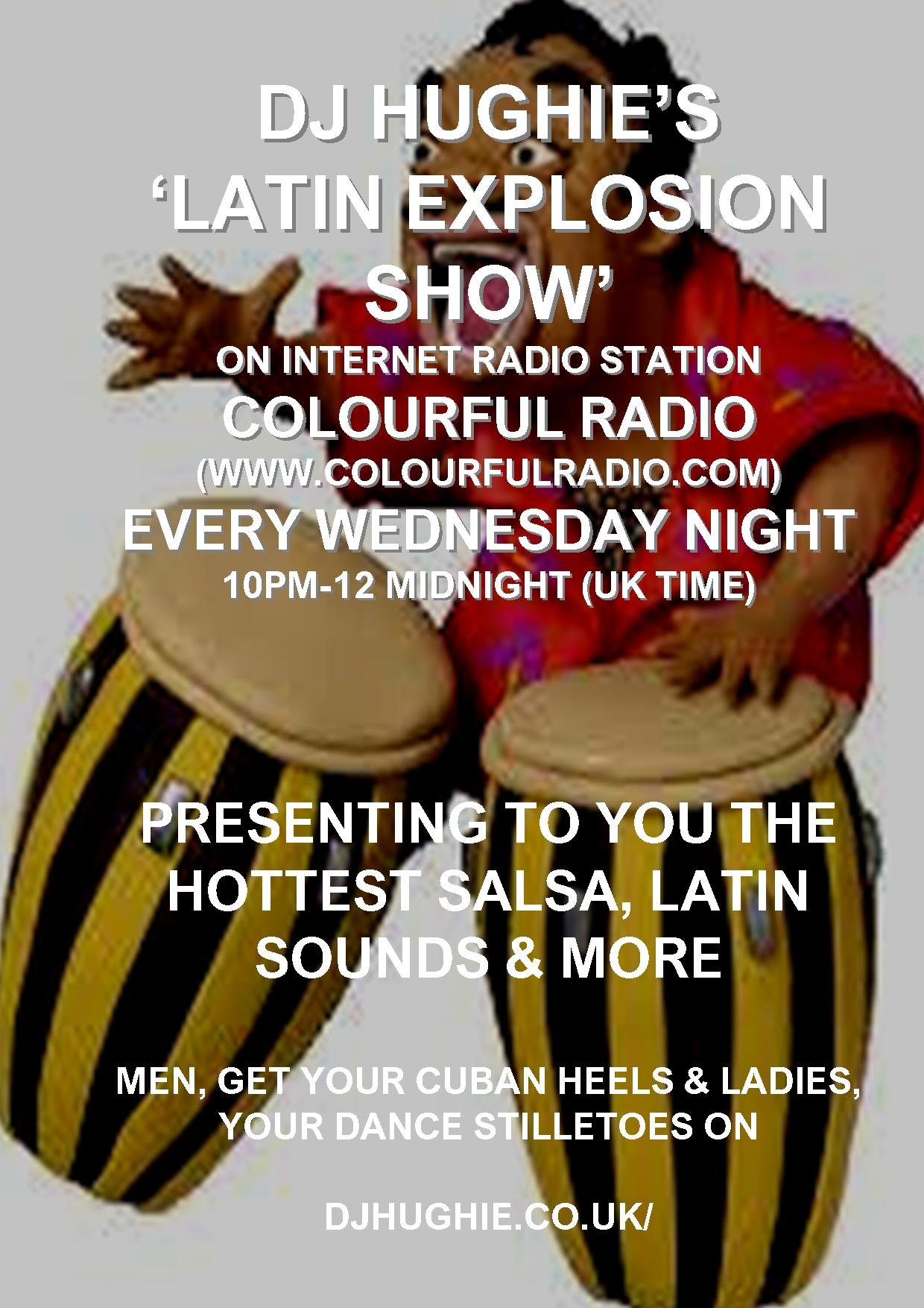 DJ Hughie's Latin Explosion Show
