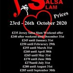 Jersey Salsa Slam October 2020 Rear
