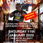 Saturday Salsa at Meza East 11.01.2020