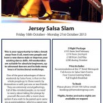 Jersey Salsa Slam 2013 Itinerary