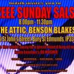 Lazeeee Sunday Salsa
