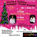 SalsaFunTherapy Christmas Flyer