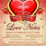 Valentines Red & White party at seebos